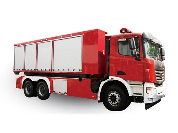 自卸式消防车