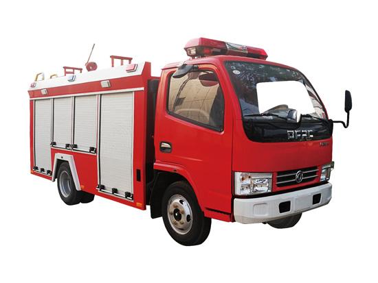 东风多利卡单排森林越野消防车
