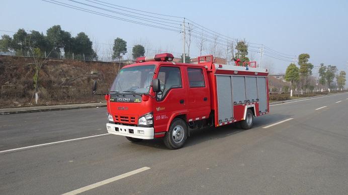 五十铃水罐消防车(3.5吨)