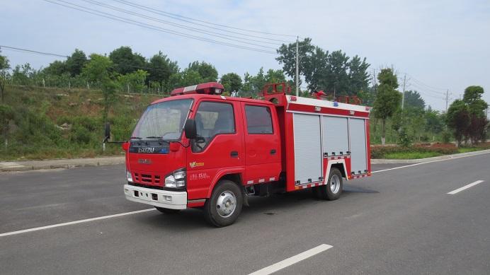 600P庆铃水罐消防车(2.5吨)