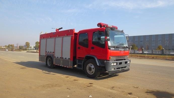 庆铃水罐消防车(6吨)图片