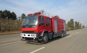 五十铃水罐消防车(7吨)