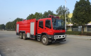 五十铃泡沫消防车(11吨)