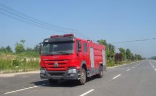 豪沃水罐消防车(8吨)