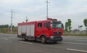 豪沃T5G森林消防车(5吨)