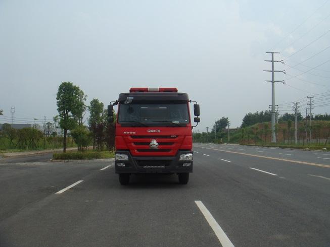 豪沃双后桥水罐消防车(16吨)图片