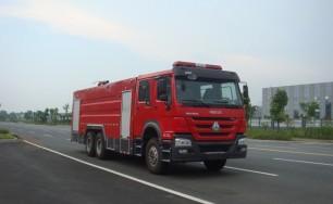 豪沃双后桥水罐消防车(16吨)