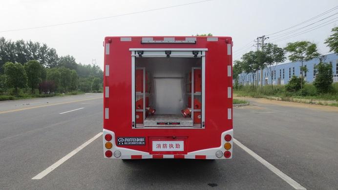 大通皮卡器材消防车图片