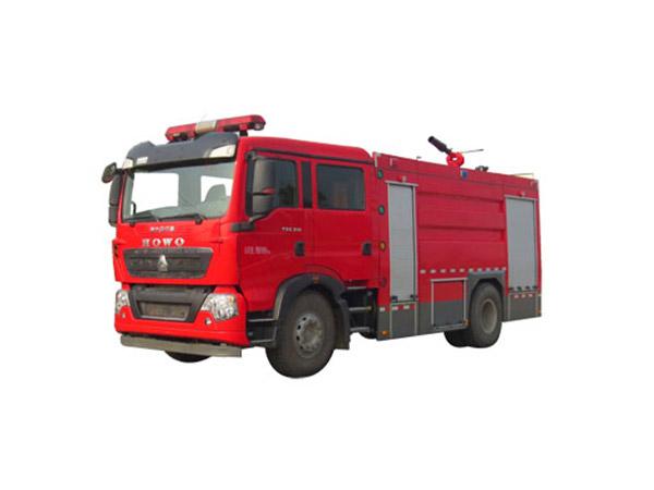 豪沃泡沫消防车(8吨)图片