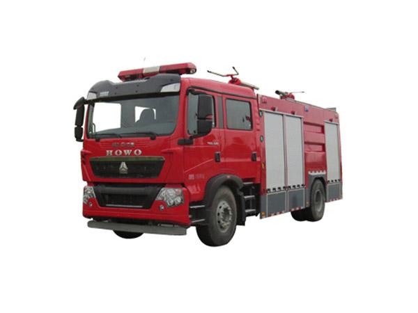 豪沃T5G泡沫消防车(5吨)图片