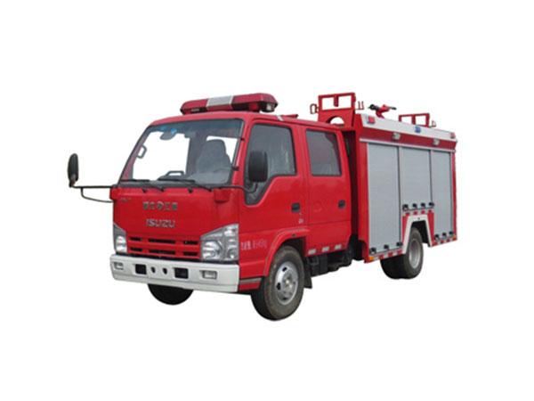 100P庆铃水罐消防车(2吨)