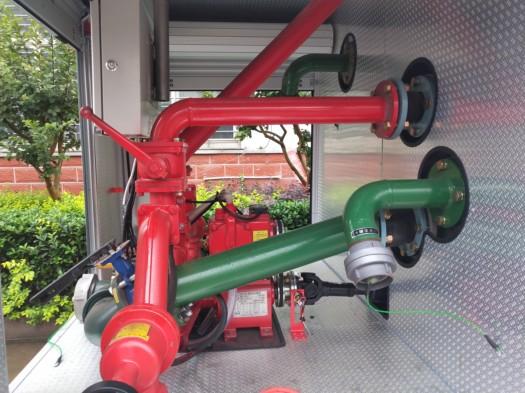 消防车消防泵
