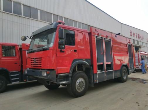 豪沃越野消防车