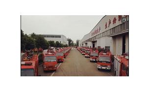 30台小型消防车发往广州